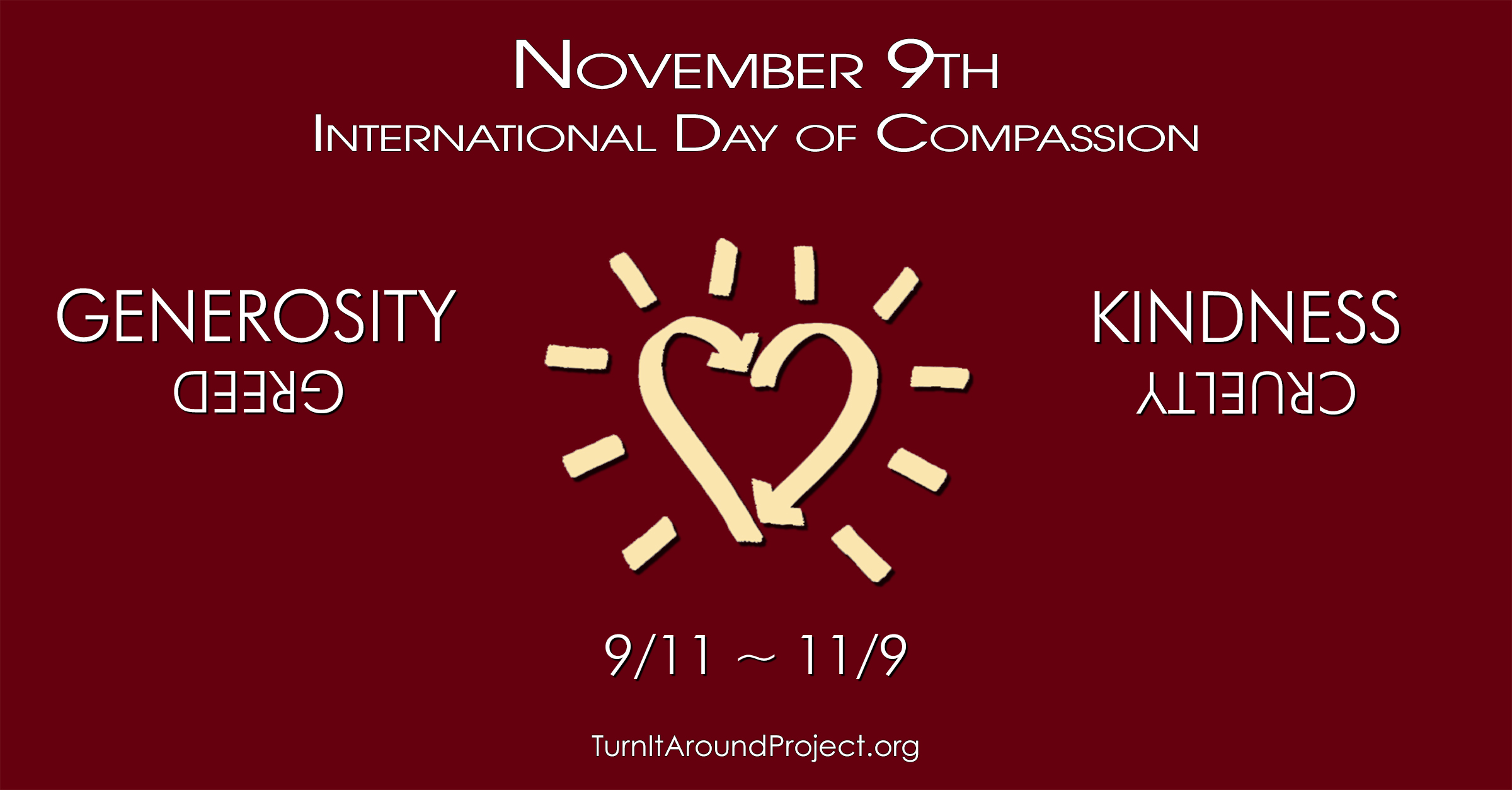 Turn It Around International Day of Compassion